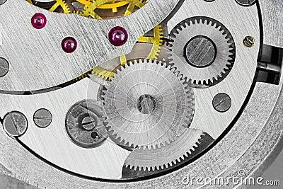 Macro of clock