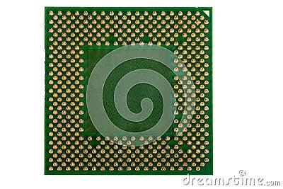 Macro of computer processor isolated