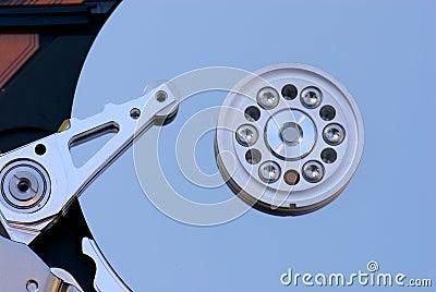 Macro del drive del hard disk
