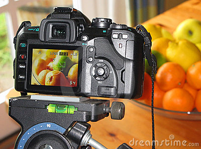 Macro food photography