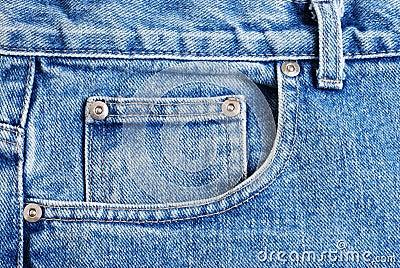 Macro Front Jeans Pocket