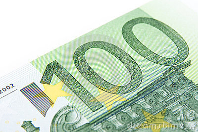 Macro hundred euro