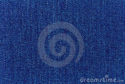 Macro of jeans denim