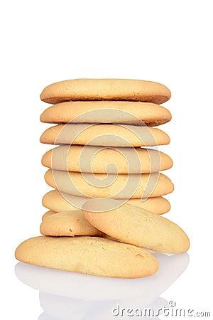 Macro lady finger cookies Shallow DOF