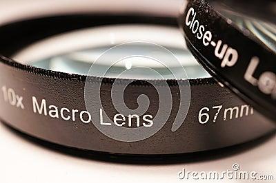 Macro lenses for camera