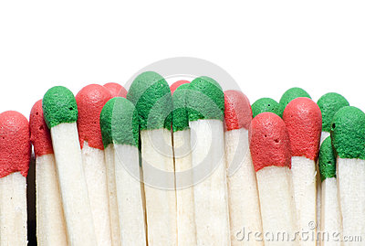 macro of matches isolated