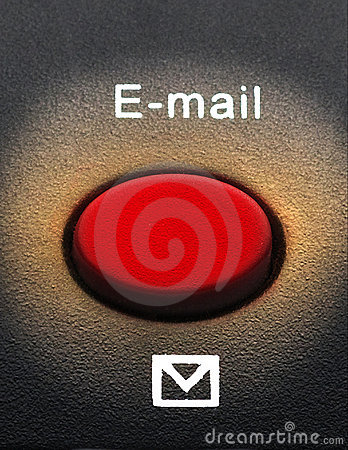 Free Macro Of An Email Button Stock Images - 10186534