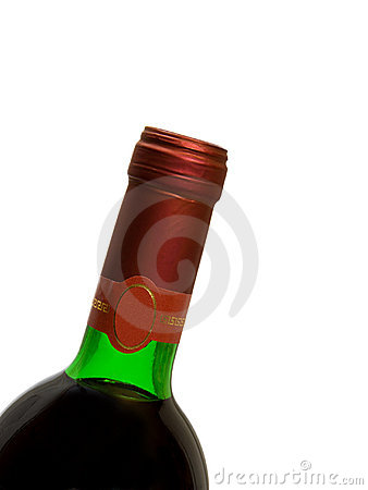 Free Macro Of Wine Bottle Royalty Free Stock Photo - 4161405