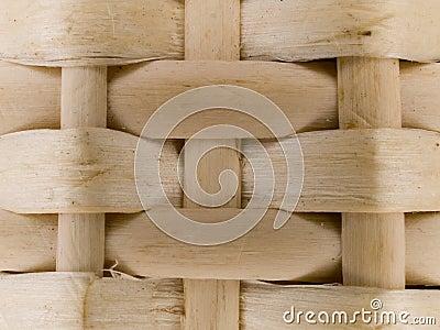 Macro pattern - bamboo basket