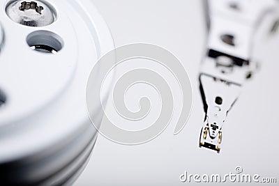 Macro photo - Hard Disk Drive