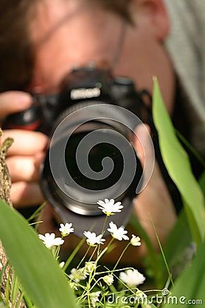 Macro photographer