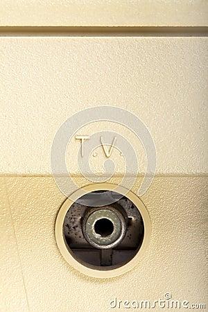 T.V. RF Socket