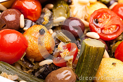 Macro of Stewed Vegetables