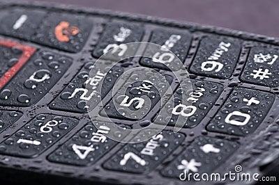 Macro of telephone keypad