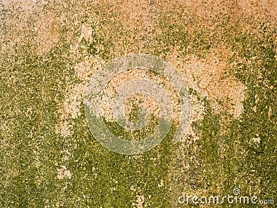 Macro texture - metal - rusty metal and peeling paint