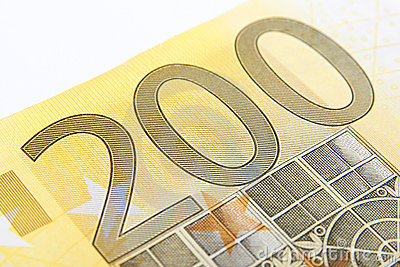 Macro two hundred euro