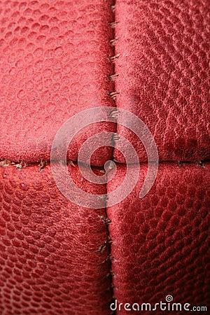 Macro View of An American Football