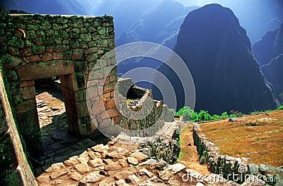 Macu Picchu Ruins