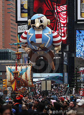 Macy s Thanksgiving Day Parade 2010 Editorial Photo