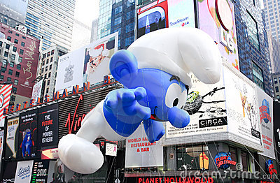 Macy s Thanksgiving Day Parade November 26, 2009 Editorial Stock Image