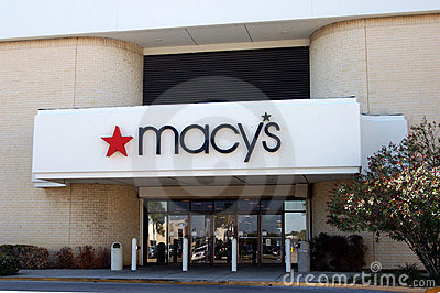 Macys closing stores Editorial Photo