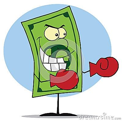Mad dollar bill