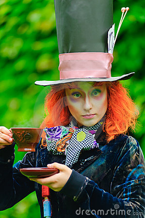 Free Mad Hatter Stock Photo - 18502420