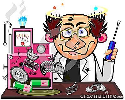 Inventor Clipar... Art Clipart Logo