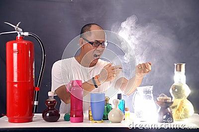 Mad man scientist