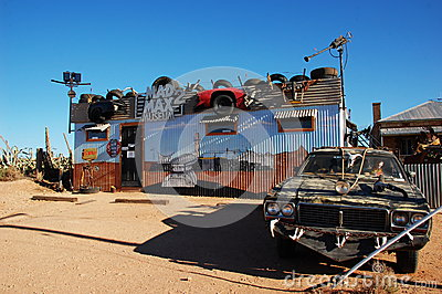 Mad Max Museum, Silverton, Australia Editorial Photography