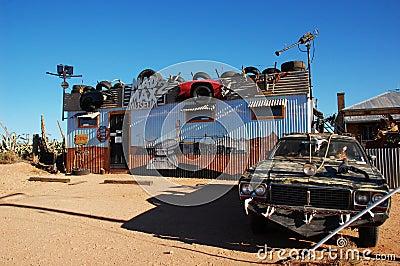 Mad Max Museum, Silverton, Australia Editorial Photography