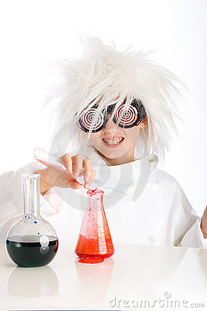 Free Mad Scientist Royalty Free Stock Photography - 20933107