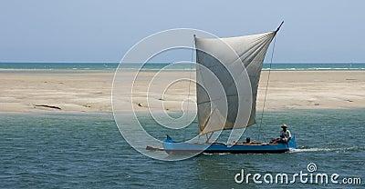 Madagascar pirogue