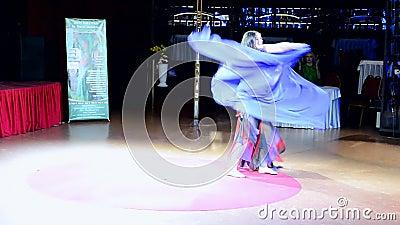 Madame Festival, Kiev, Ukraine de ventre, banque de vidéos