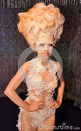 Madame Gaga Image stock éditorial