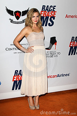 Maddie Hasson arrives at the 19th Annual Race to Erase MS gala Editorial Image