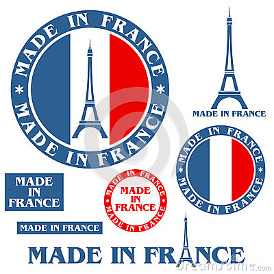 Free Made In France Royalty Free Stock Photo - 38535315