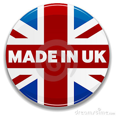 Free Made In UK Royalty Free Stock Photos - 16788108