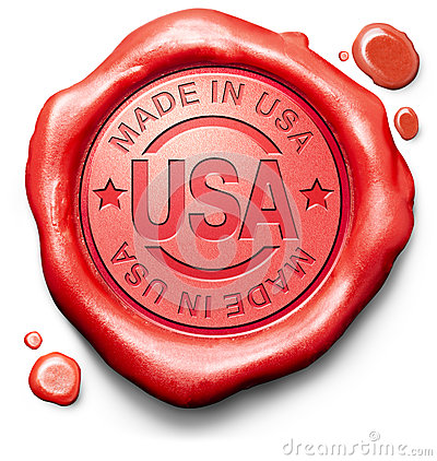Free Made In USA Quality Label Stock Images - 31193284