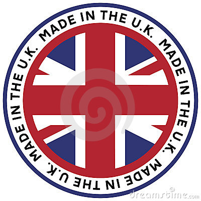 Made in the U.K. Emblem