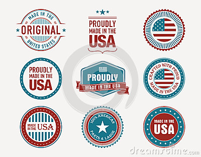 Made in usa stamps and seals