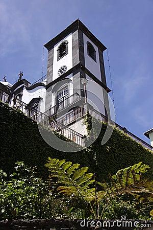 Madeira, the Church of Nossa Senhora