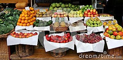 Madeira island - farmers market