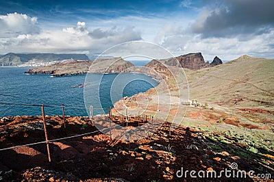 Coastline of Madeira island