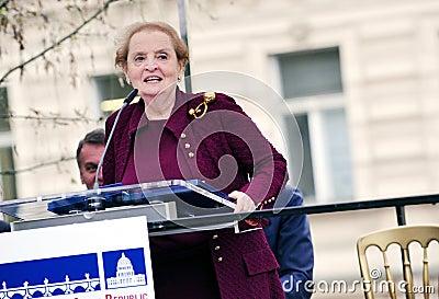 Madeleine Albright Editorial Photography