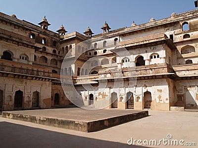 Madhya orcha pałac pradesh