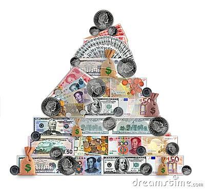 Free Madoff Pyramid Stock Photo - 7688200