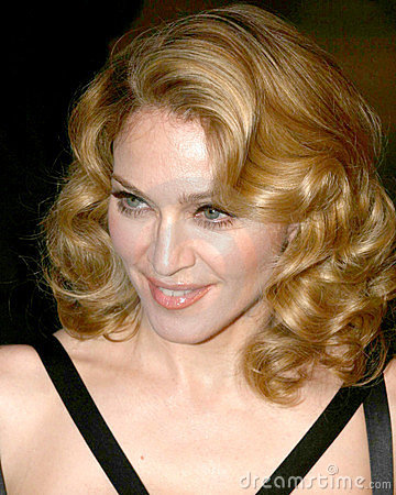 Madonna Editorial Stock Image