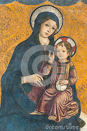 Free Madonna And Child Stock Photos - 52170853