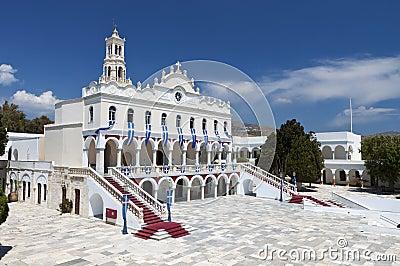 The Madonna church at Tinos island